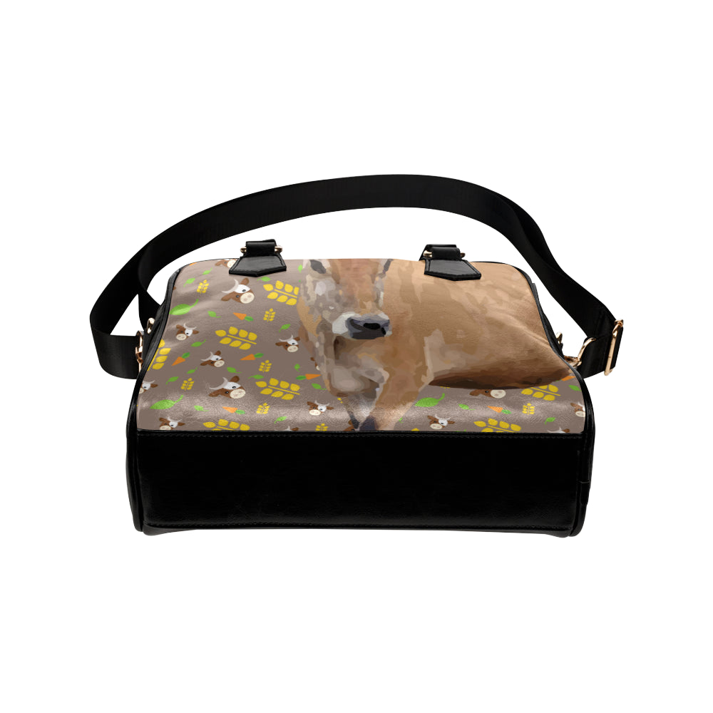 Cow Shoulder Handbag - TeeAmazing