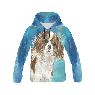 Cavalier King Charles Spaniel Water Colour No.1 All Over Print Hoodie for Women - TeeAmazing