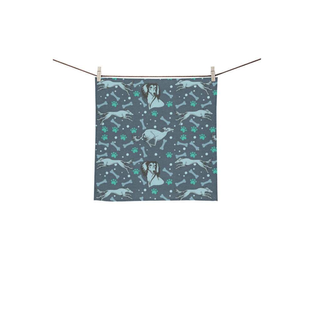 Saluki Square Towel 13x13 - TeeAmazing