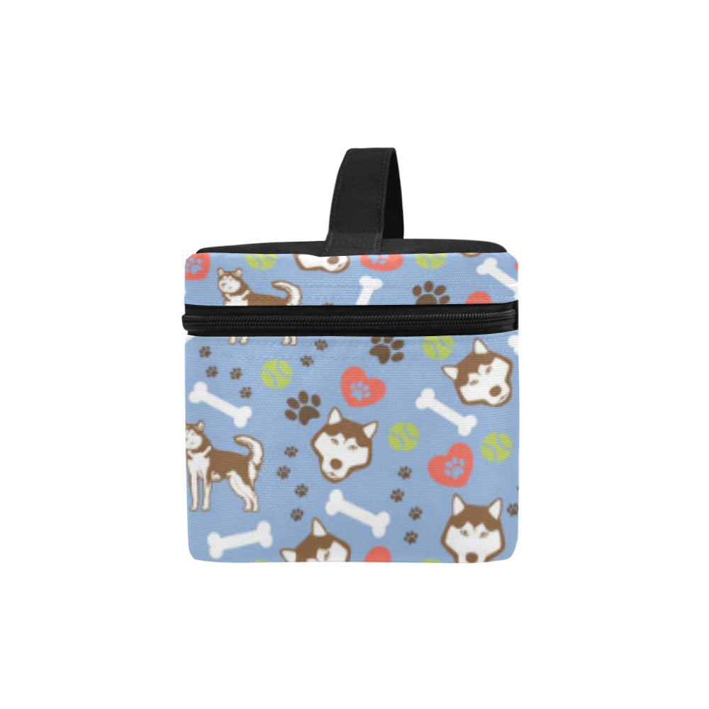 Alaskan Malamute Pattern Cosmetic Bag/Large - TeeAmazing
