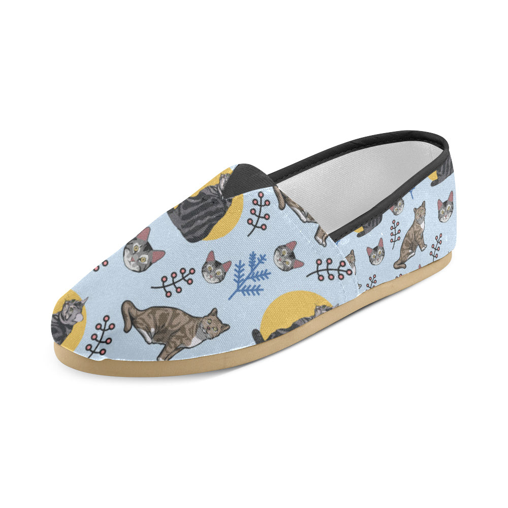 American Shorthair Women's Casual Shoes - TeeAmazing