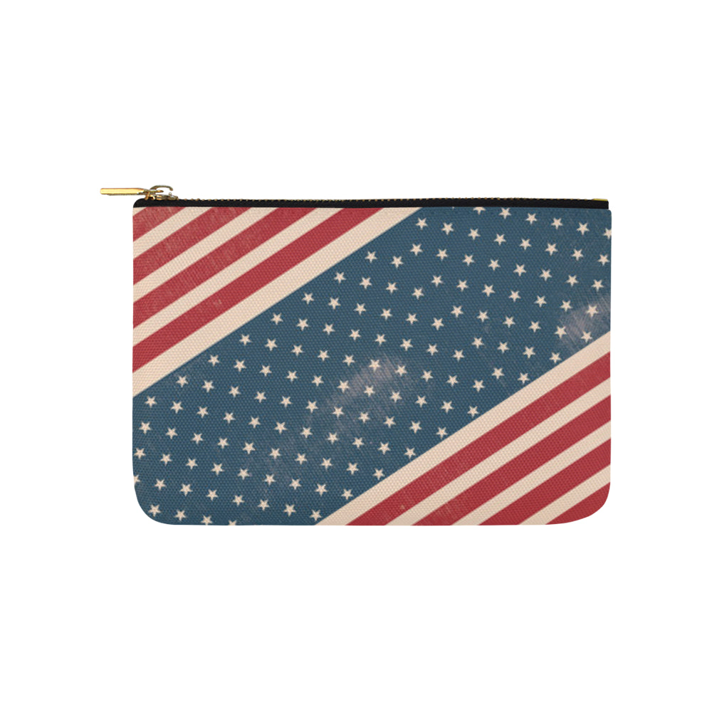 4th July V2 Carry-All Pouch 9.5x6 - TeeAmazing