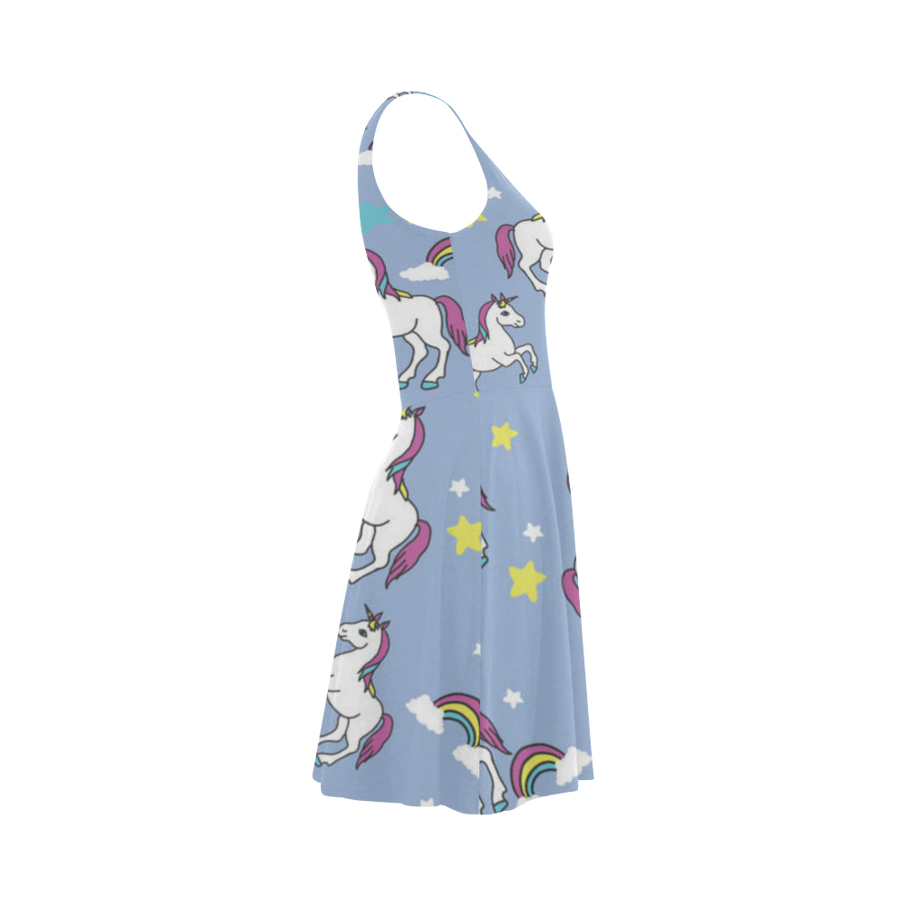 Unicorn Pattern Atalanta Sundress - TeeAmazing