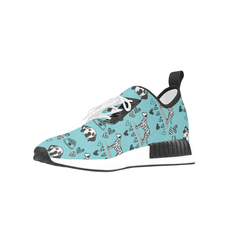 Dalmatian Pattern Women's Draco Running Shoes - TeeAmazing