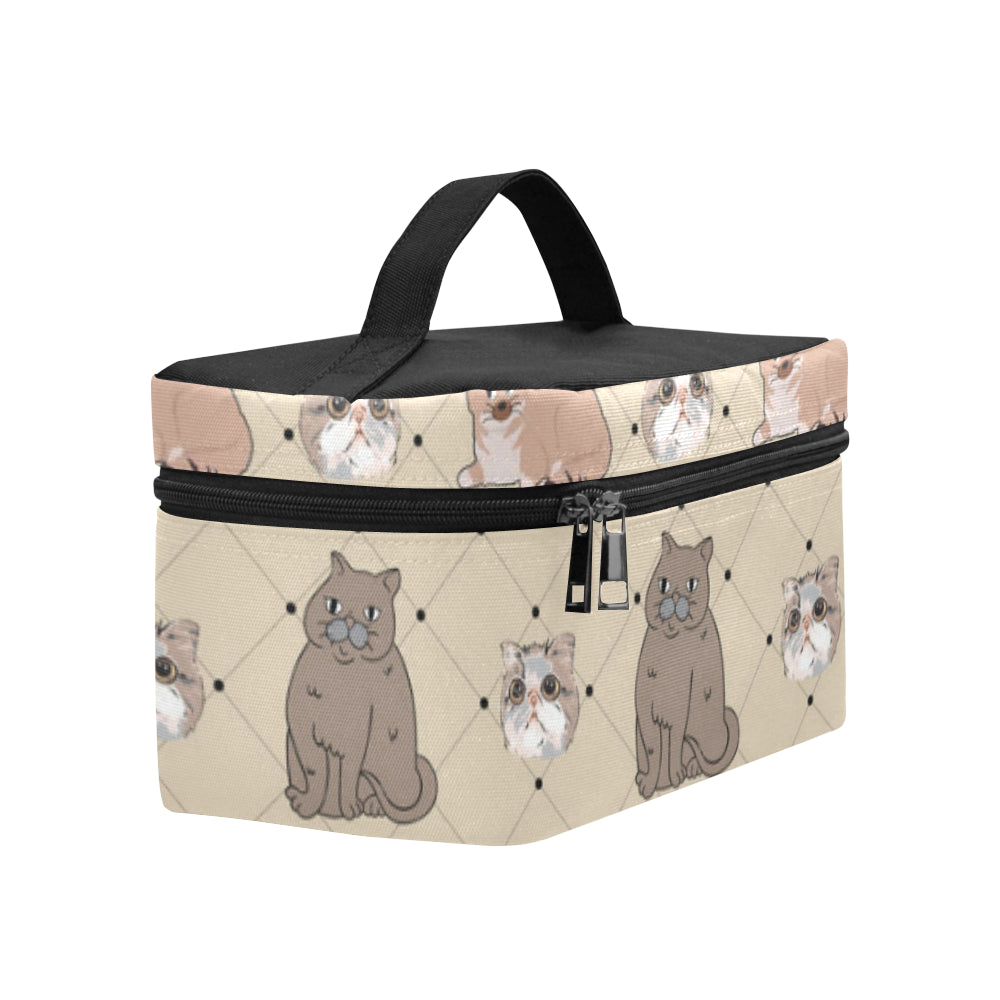 Exotic Shorthair Cosmetic Bag/Large (Model 1658) - TeeAmazing