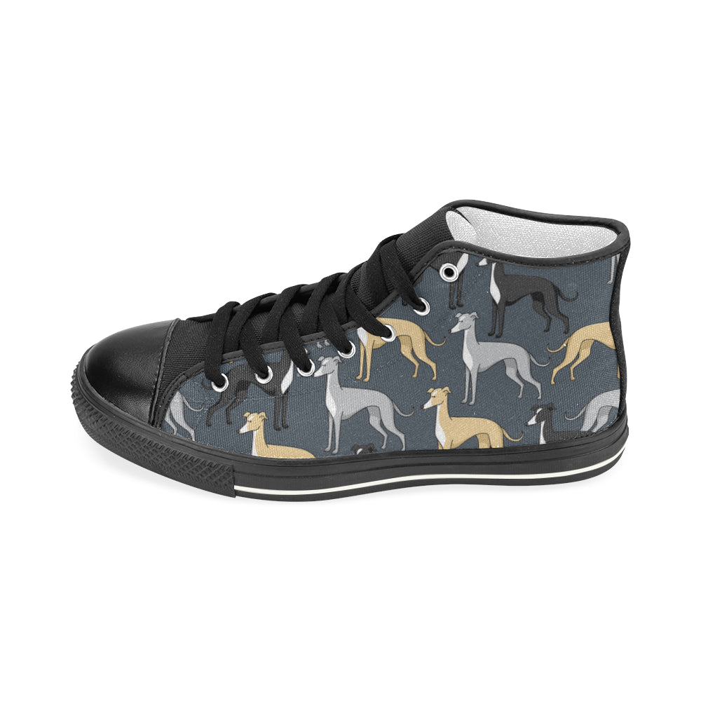 Greyhound Shoes & Sneakers - Custom Greyhound Canvas Shoes - TeeAmazing