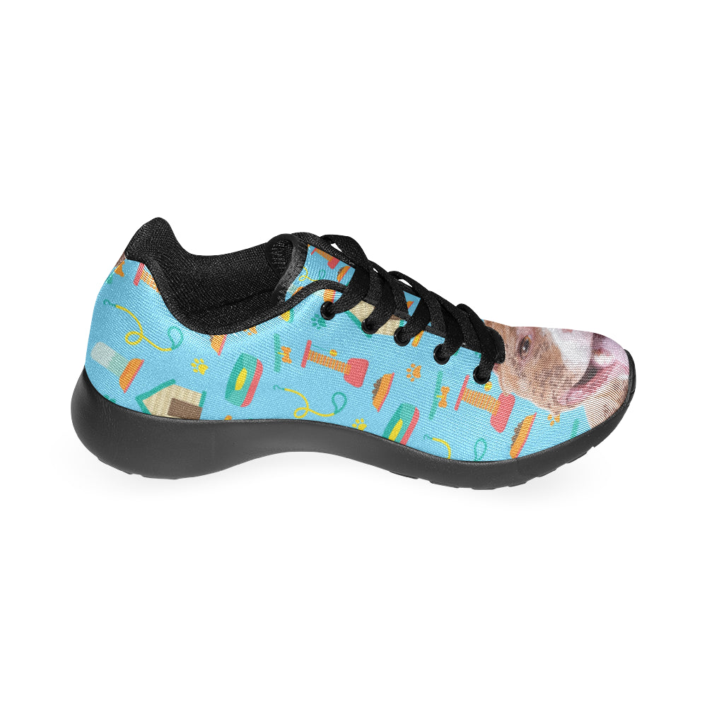 Pit bull Black Sneakers Size 13-15 for Men - TeeAmazing