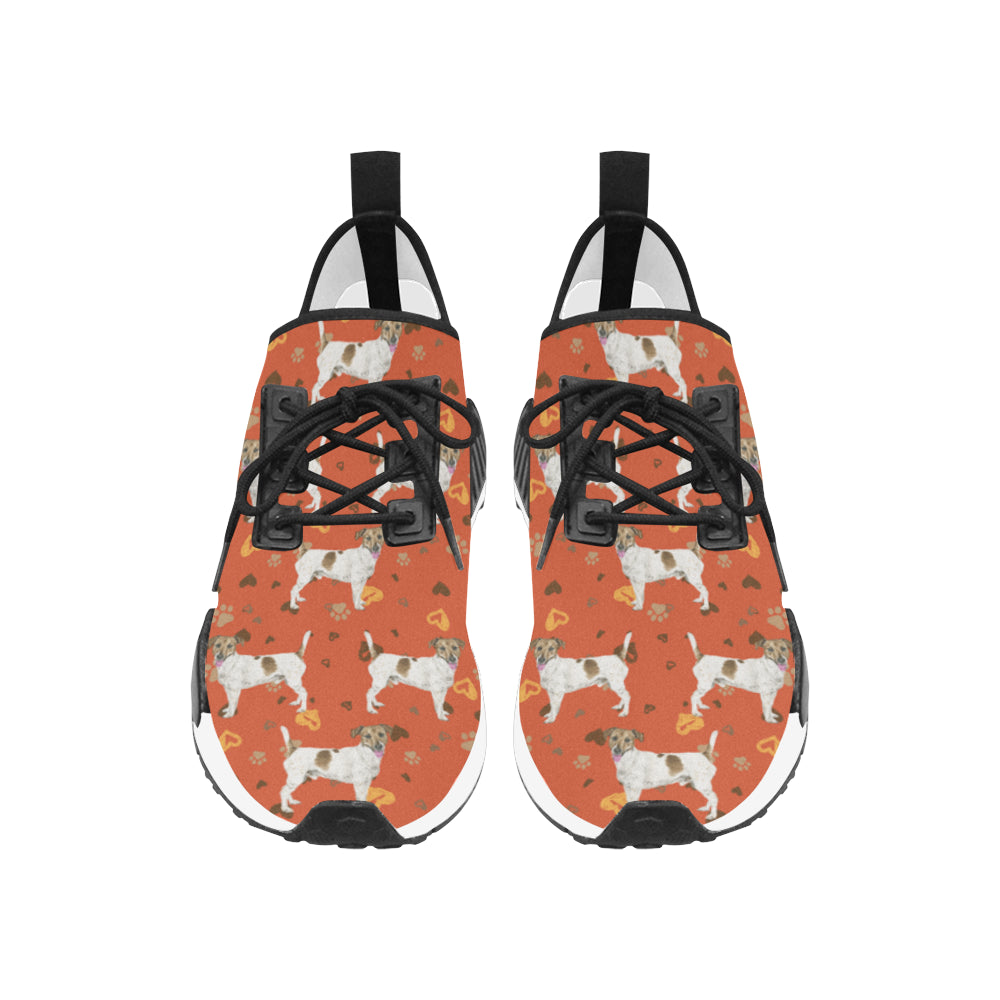 Jack Russell Terrier Water Colour Pattern No.1 Women's Draco Running Shoes - TeeAmazing