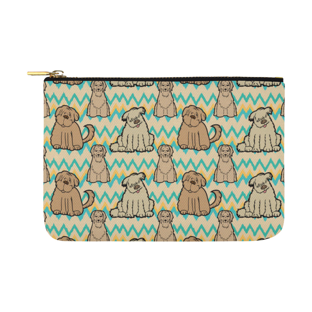 Briard Carry-All Pouch 12.5x8.5 - TeeAmazing