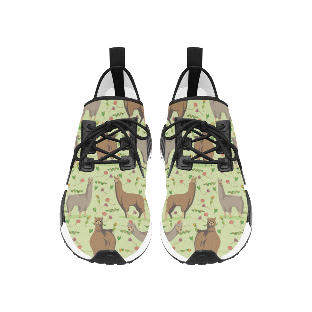 llama Women's Draco Running Shoes - TeeAmazing