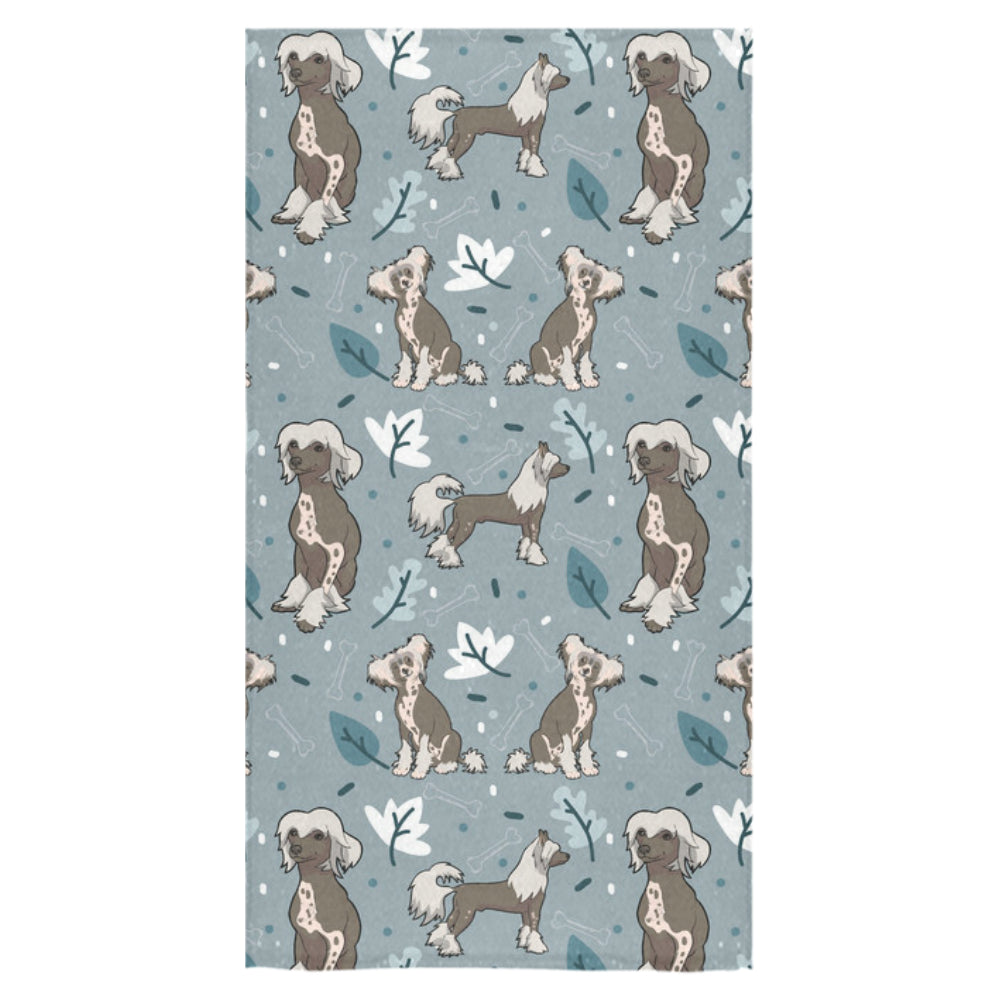 "Chinese Crested Bath Towel 30""x56"" - TeeAmazing"