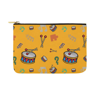 Bass Drum Pattern Carry-All Pouch 12.5x8.5 - TeeAmazing