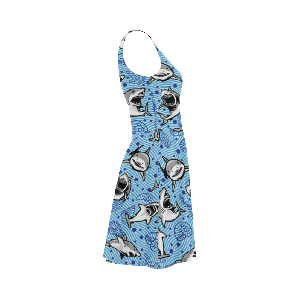 Shark Atalanta Sundress - TeeAmazing
