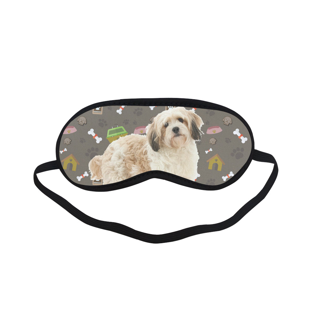 Cavachon Dog Sleeping Mask - TeeAmazing