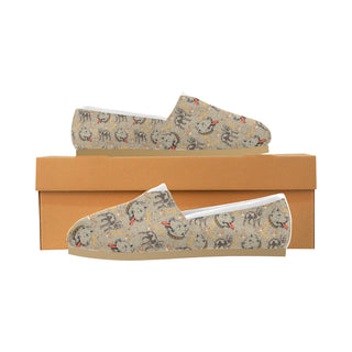 Pitbull Pattern Women's Casual Shoes
