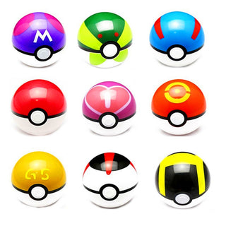 1Pcs 7cm Pokemon Ball Figures ABS Anime Action Figures Pokemon PokeBall Toys Super Master Pokemon Ball Toys Pokeball Juguetes - TeeAmazing