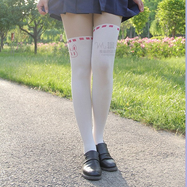 Sailor Moon cosplay costume Crystal Luna Kitty Cute Pantyhose Women Panty Stocking Tights - TeeAmazing - 4