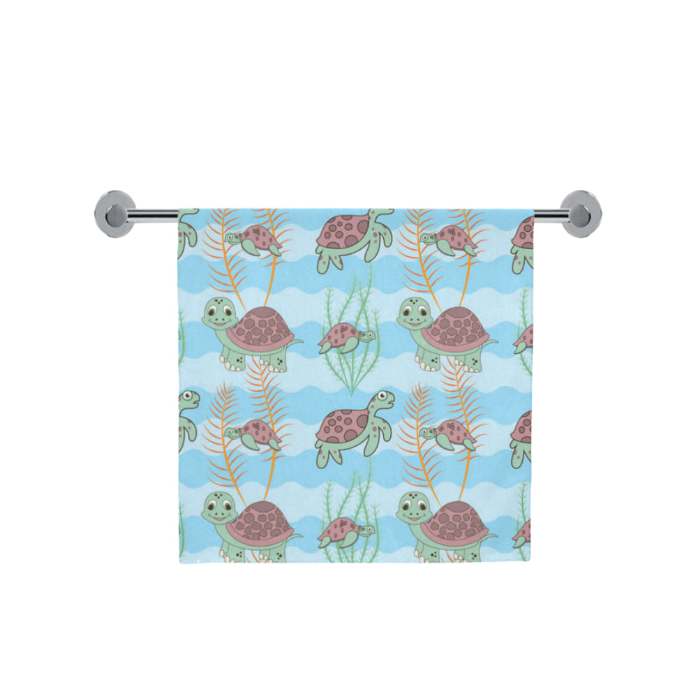 "Turtle Bath Towel 30""x56"" - TeeAmazing"