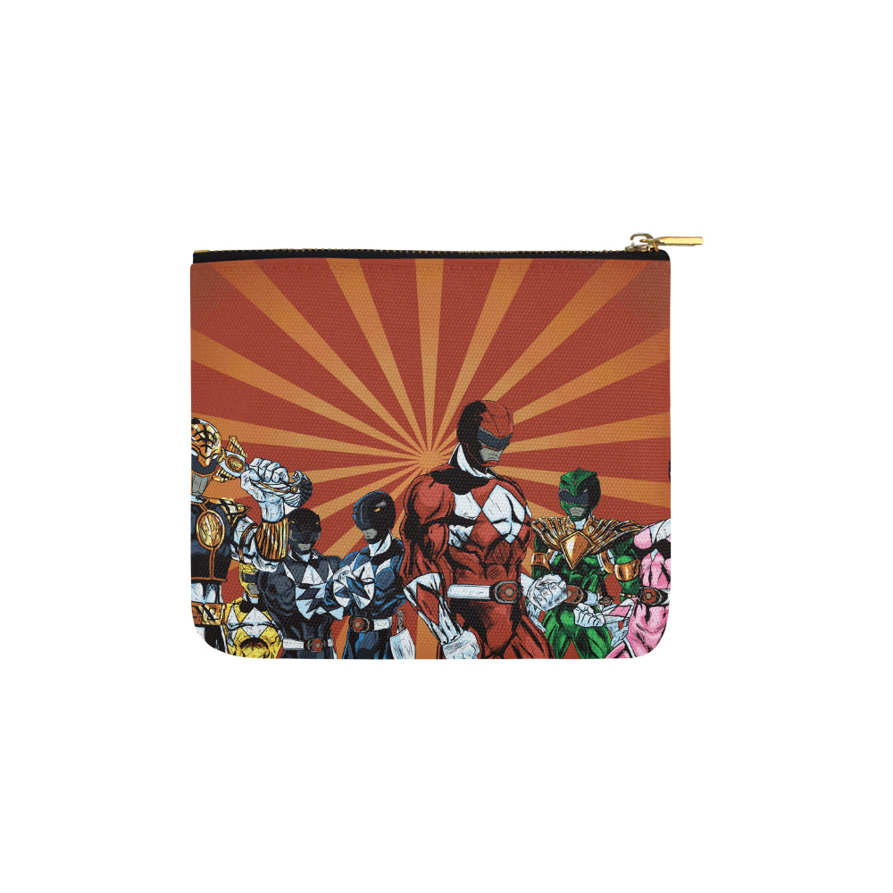 Power Ranger Carry-All Pouch 6x5 - TeeAmazing