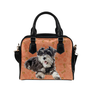 Miniature Schnauzer Shoulder Handbag - TeeAmazing