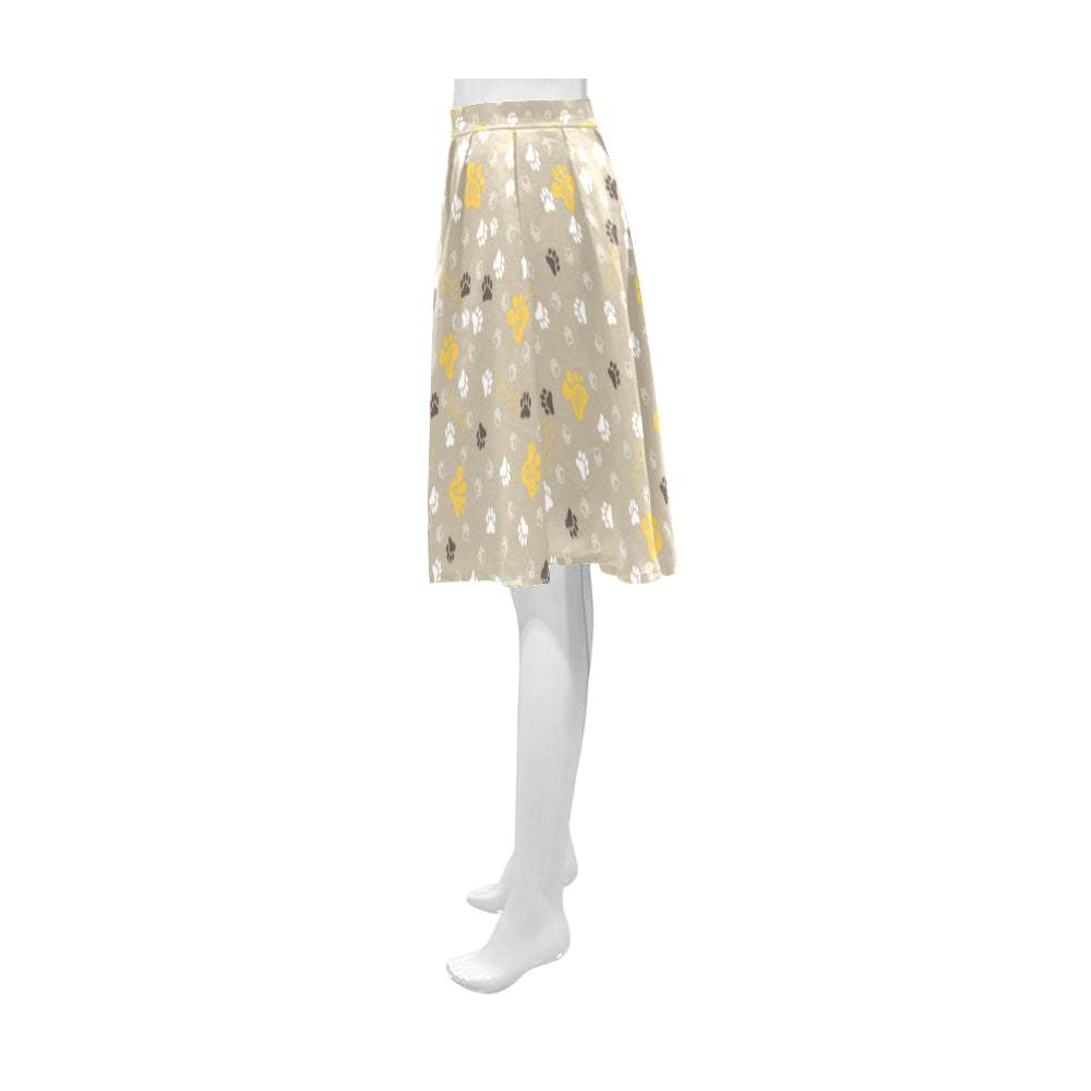 Afghan Hound Athena Women's Short Skirt - TeeAmazing
