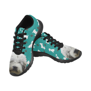Mioritic Shepherd Dog Black Sneakers for Women - TeeAmazing