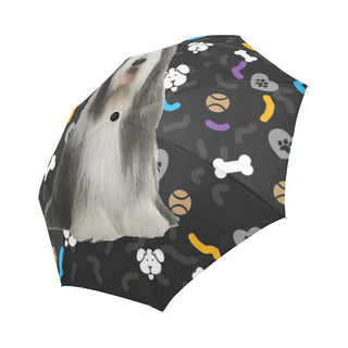 Bearded Collie Dog Auto-Foldable Umbrella - TeeAmazing