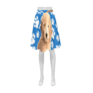 Goldendoodle Athena Women's Short Skirt (Model D15) - TeeAmazing