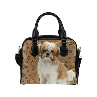 Maltese Shih Tzu Dog Shoulder Handbag - TeeAmazing
