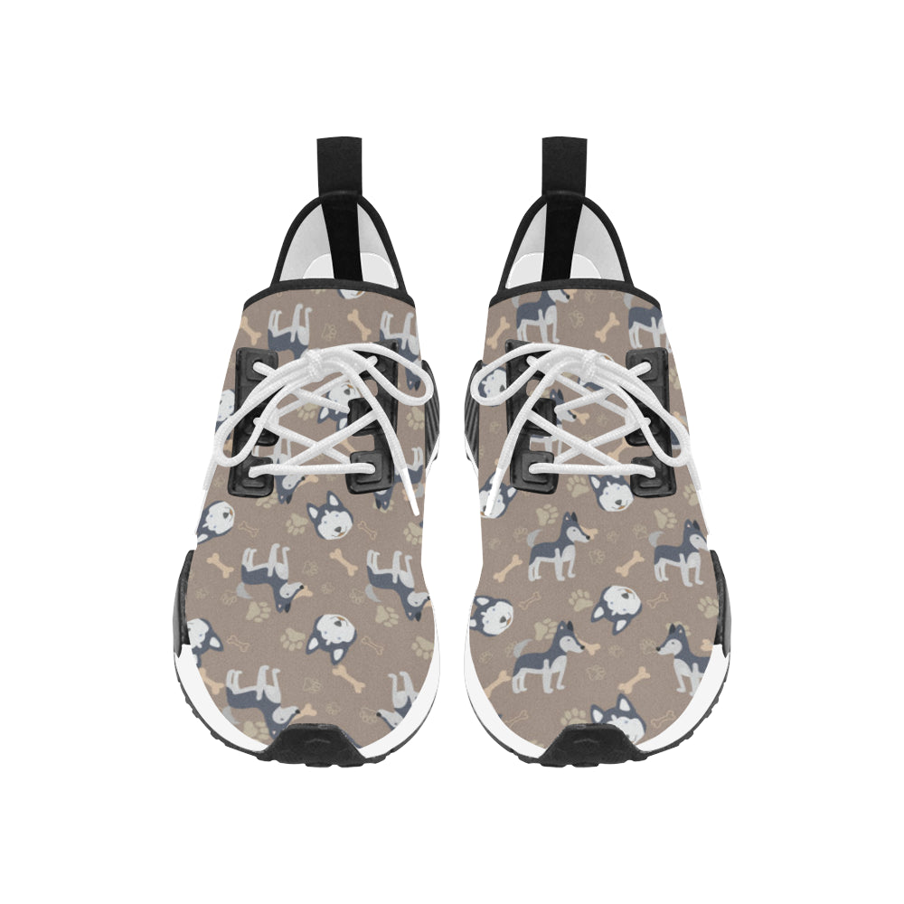 Siberian Husky Pattern Men's Draco Running Shoes - TeeAmazing