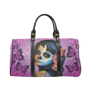 Sugar Skull Candy V1 New Waterproof Travel Bag/Small - TeeAmazing