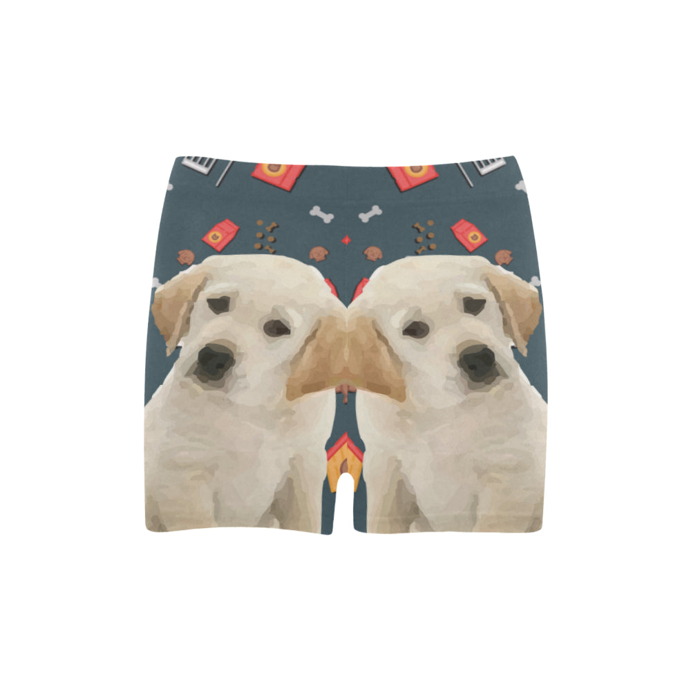 Goldador Dog Briseis Skinny Shorts (Model L04) - TeeAmazing