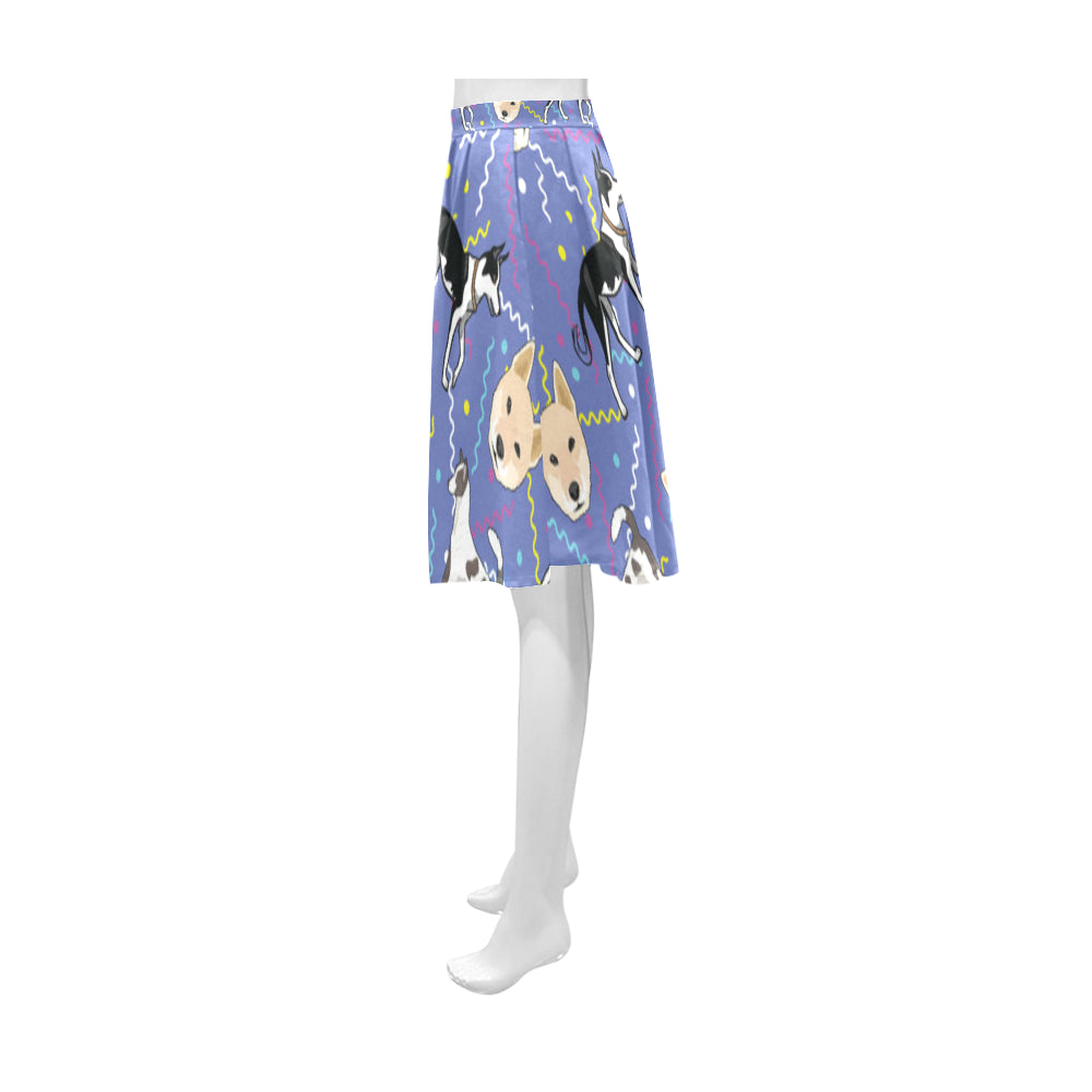 Canaan Dog Athena Women's Short Skirt - TeeAmazing