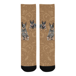Australian Cattle Dog Lover Trouser Socks - TeeAmazing