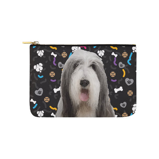Bearded Collie Dog Carry-All Pouch 9.5x6 - TeeAmazing