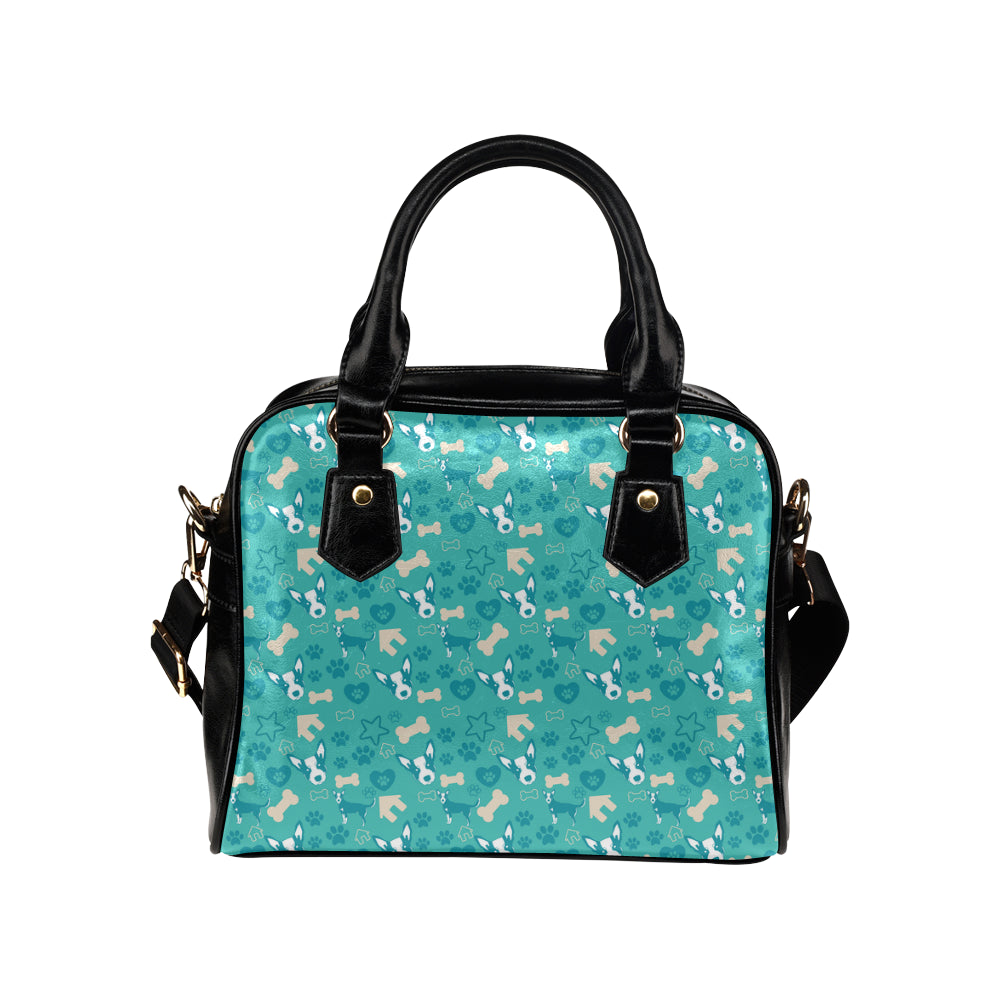 Australian Cattle Dog Pattern Shoulder Handbag - TeeAmazing