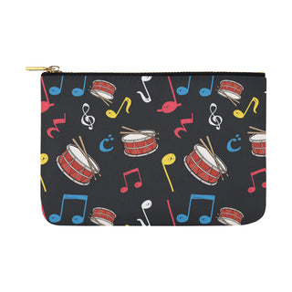 Snare Drum Pattern Carry-All Pouch 12.5x8.5 - TeeAmazing