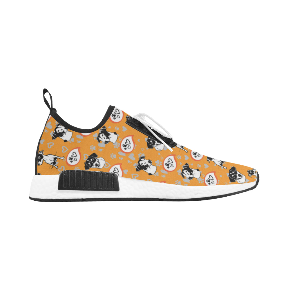 Jack Russell Terrier Pattern Men's Draco Running Shoes - TeeAmazing