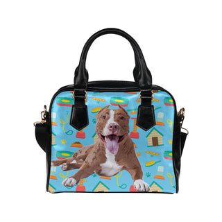 Pit bull Shoulder Handbag - TeeAmazing