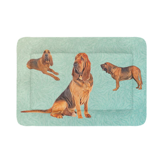 "Bloodhound Lover Dog Beds 54""x37"" - TeeAmazing"