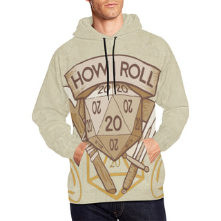 How I Roll All Over Print Hoodie for Men - TeeAmazing