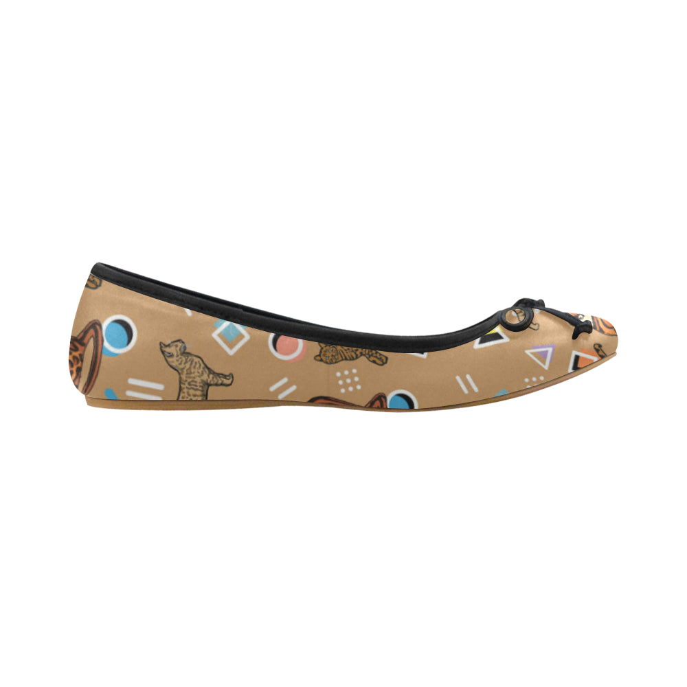 Bengal Cat Juno Ballet Pumps - TeeAmazing
