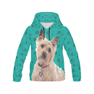 Cairn terrier All Over Print Hoodie for Women (USA Size) (Model H13) - TeeAmazing