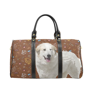 Great Pyrenees Dog New Waterproof Travel Bag/Small - TeeAmazing