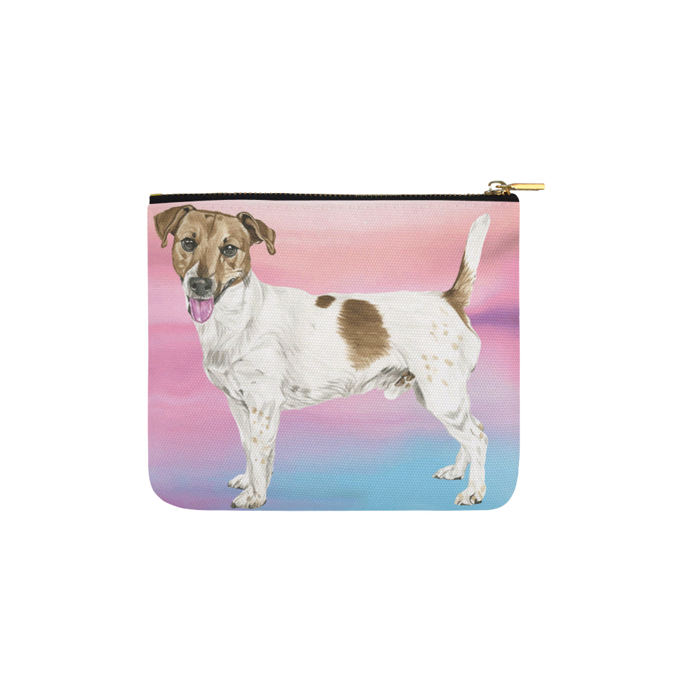 Jack Russell Terrier Water Colour No.1 Carry-All Pouch 6x5 - TeeAmazing