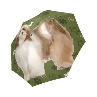 Lhasa Apso Dog Foldable Umbrella - TeeAmazing