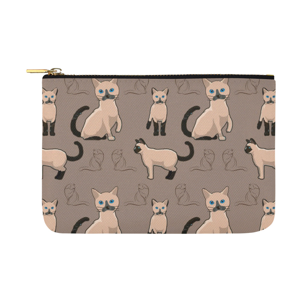 Tonkinese Cat Carry-All Pouch 12.5''x8.5'' - TeeAmazing