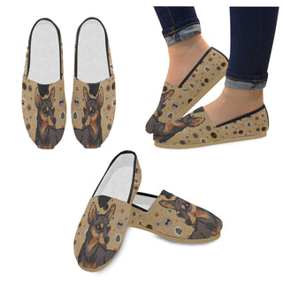 Miniature Pinscher Dog Women's Casual Shoes - TeeAmazing
