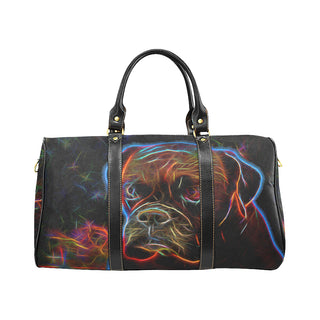Boxer Glow Design 3 New Waterproof Travel Bag/Large - TeeAmazing