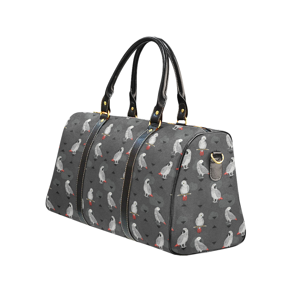 African Greys New Waterproof Travel Bag/Small - TeeAmazing